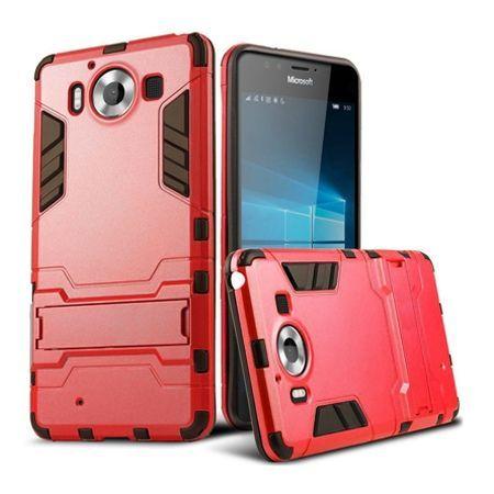 Pancerne etui na Nokia Lumia 950 - czerwony.