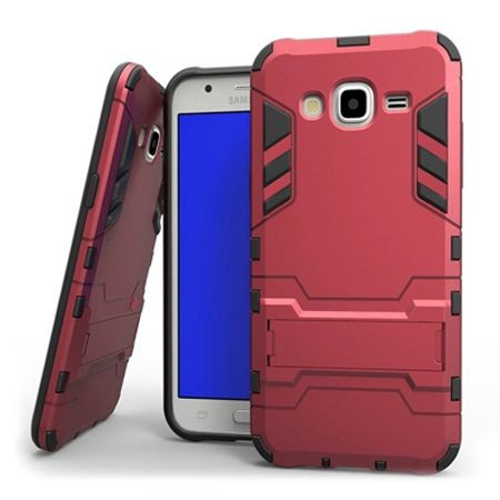 Pancerne etui na Galaxy Core Prime - czerwony.
