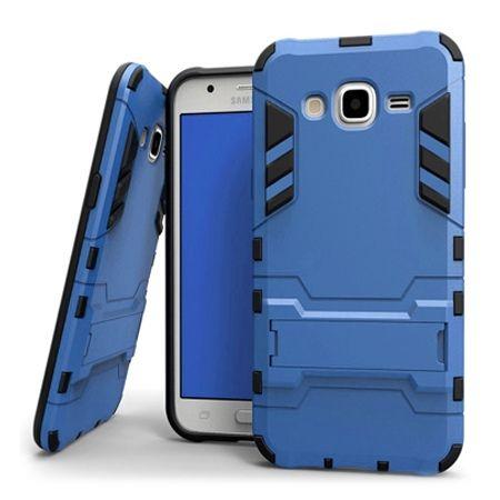Pancerne etui na Galaxy Core Prime - niebieski.