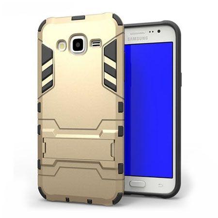 Pancerne etui na Galaxy Core Prime - złoty.