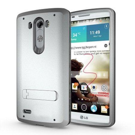 Pancerne etui na LG G3 - srebrny.