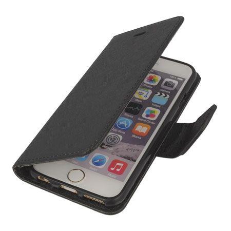 Etui na iPhone 6 / 6s Fancy Wallet - czarny. PROMOCJA!!!