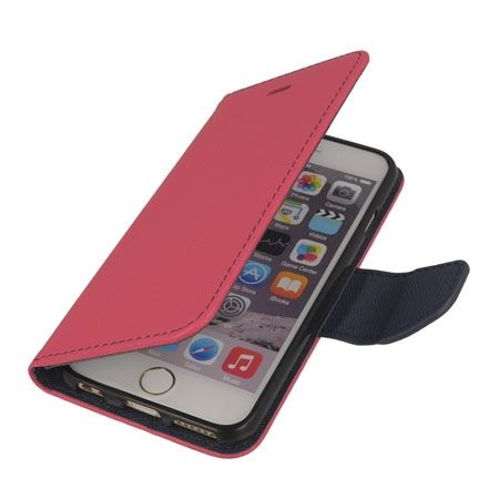 Etui na iPhone 6 / 6s Fancy Wallet - różowy. PROMOCJA!!!