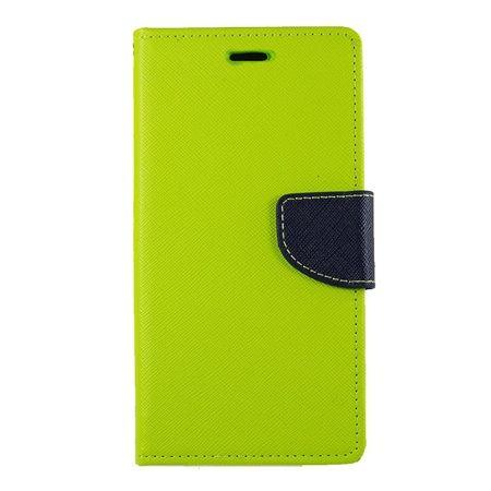 Etui na Huawei P8 Lite Fancy Wallet - limonkowy. PROMOCJA!!!