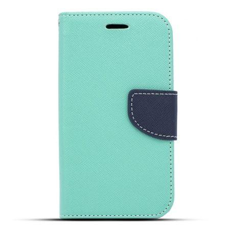 Etui na Galaxy A5 Fancy Wallet - miętowy.