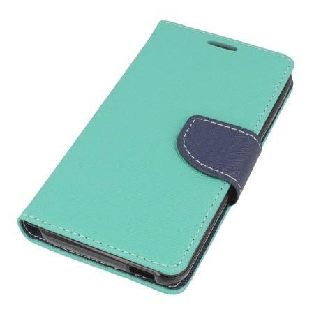 Etui na HTC Desire 820  Fancy Wallet - miętowy.