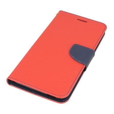 Etui na HTC Desire 820  Fancy Wallet - czerwony.