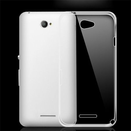 Xperia E4 silikonowe etui crystal case.