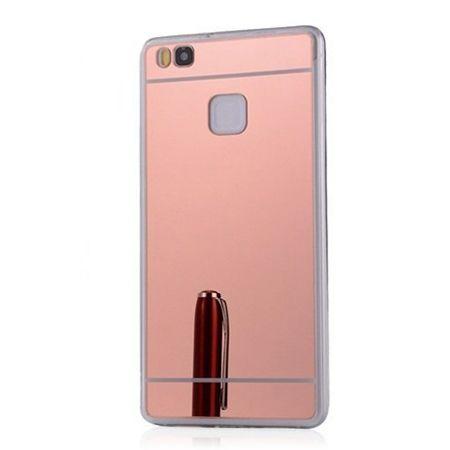 Etui na Huawei P9 Lite mirror - lustro silikonowe lustrzane TPU - rose gold.