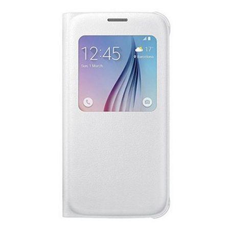Galaxy Note 5 Flip S View z klapką białe.