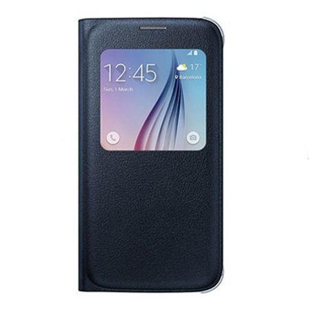 Galaxy Note 5 Flip S View z klapką czarne.