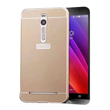 Mirror bumper case na Zenfone 2 - Złoty