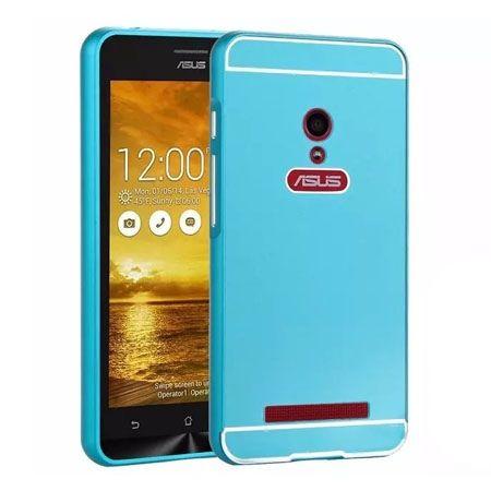 Zenfone 5 etui aluminium bumper case - Niebieski PROMOCJA !!!