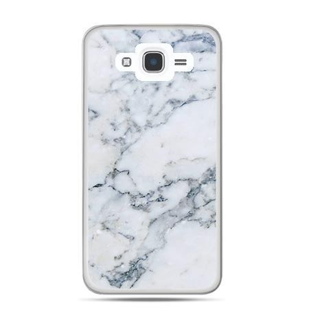 Etui na Galaxy J7 (2016r) biały marmur