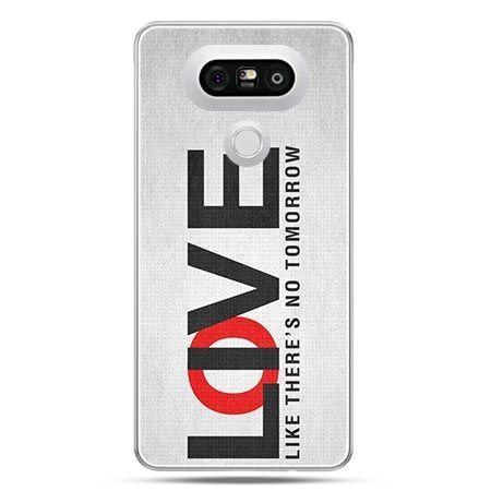 Etui na telefon LG G5 LOVE LIVE