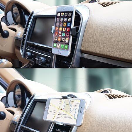 Vent uniwersalny uchwyt samochodowy na Huawei P9 Lite na kratkę.