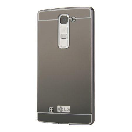 Mirror bumper case na LG G4c - Grafitowy