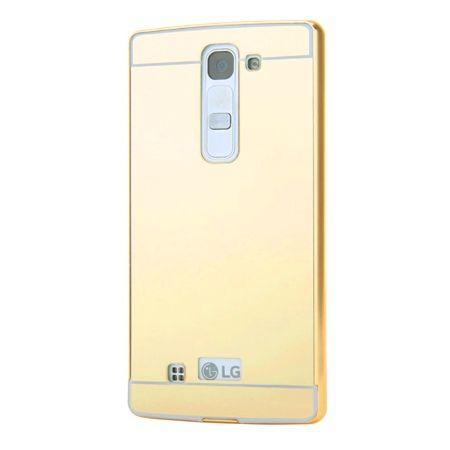 Mirror bumper case na LG G4c - Złoty