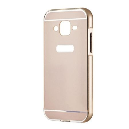 Galaxy Grand Neo etui aluminium bumper case - Złoty