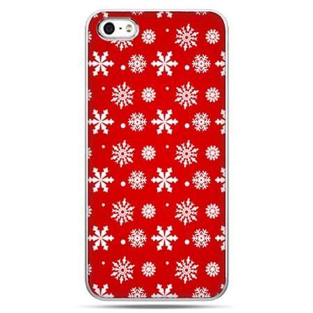 Świąteczne eui na telefon płatki śniegu.