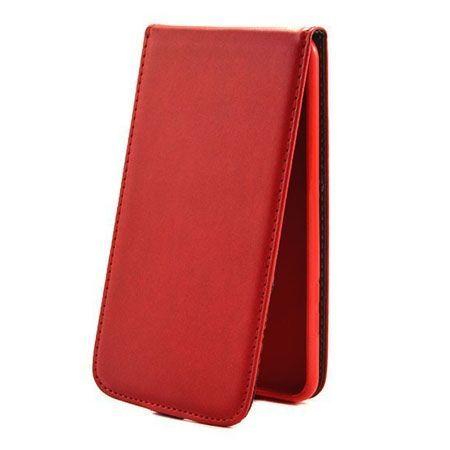 Etui na telefon Huawei P9 Lite - kabura z klapką - czerwony