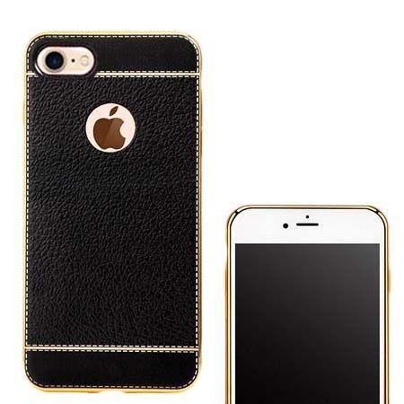 etui na iphone 7 silikonowe platynowane tpu slim sk ra czarne 28036 etuistudio. Black Bedroom Furniture Sets. Home Design Ideas