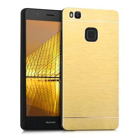 Etui na telefon Huawei P9 lite - Motomo aluminiowe - złoty PROMOCJA !!!
