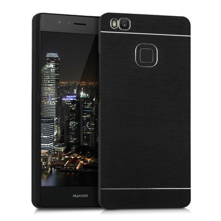 Etui na telefon Huawei P9 lite - Motomo aluminiowe - czarny