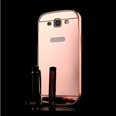 Mirror bumper case na Galaxy S3 - Rose Gold