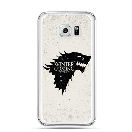 Etui na Galaxy S6 Edge Plus - Gra o Tron Winter is coming czarna