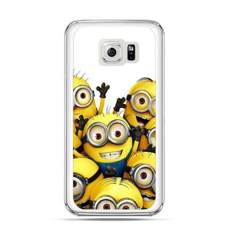 Etui na Galaxy S6 Edge Plus - Minionki