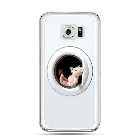 Etui na Galaxy S6 Edge Plus - miś w pralce