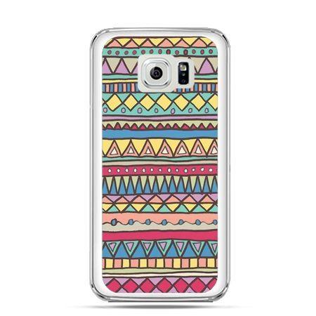 Etui na Galaxy S6 Edge Plus - Azteckie wzory