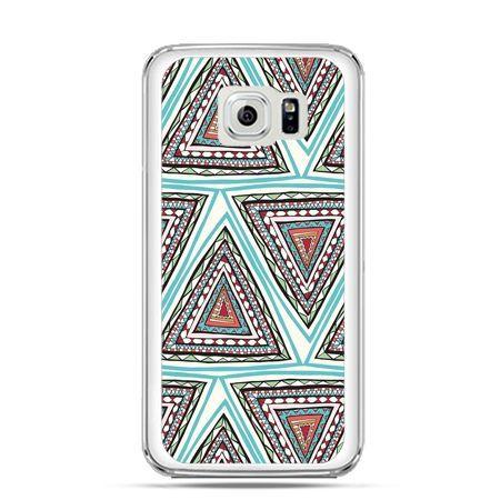 Etui na Galaxy S6 Edge Plus - Azteckie trójkąty