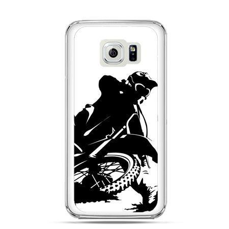 Etui na Galaxy S6 Edge Plus - motocykl cross