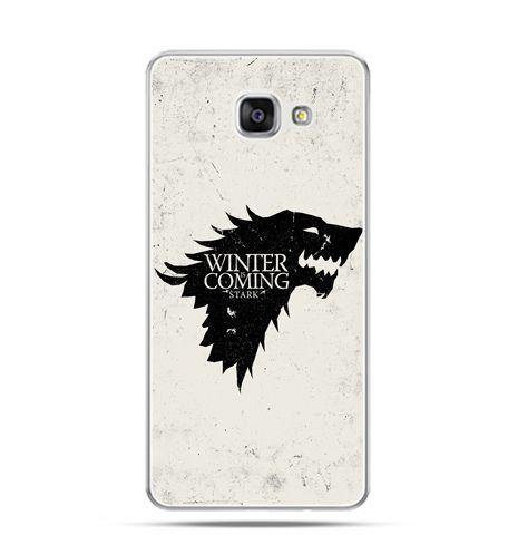 Etui na Samsung Galaxy A3 (2016) A310 - Gra o Tron Winter is coming czarna