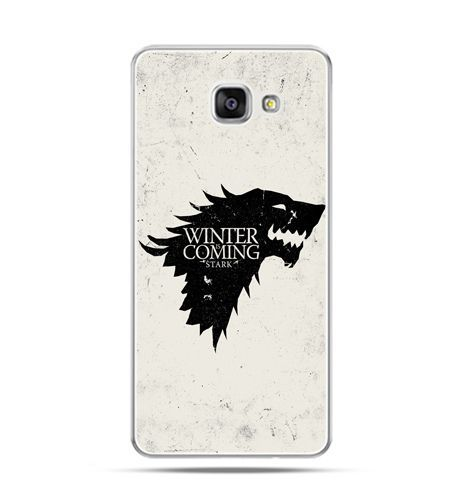 Etui na Samsung Galaxy A3 (2016) A310 - Gra o Tron Winter is coming czarna