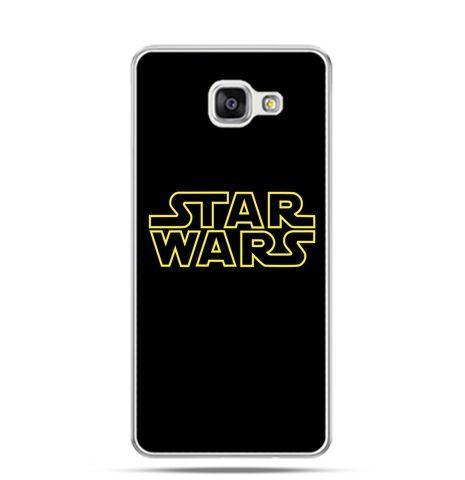 Etui na Samsung Galaxy A3 (2016) A310 - Star Wars złoty napis