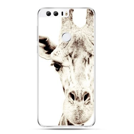 Etui na Huawei Honor 8 - żyrafa