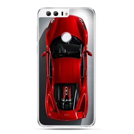Etui na Huawei Honor 8 - czerwone Ferrari