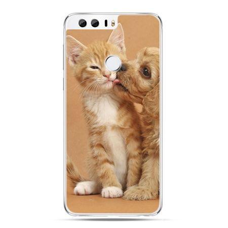 Etui na Huawei Honor 8 - jak pies i kot