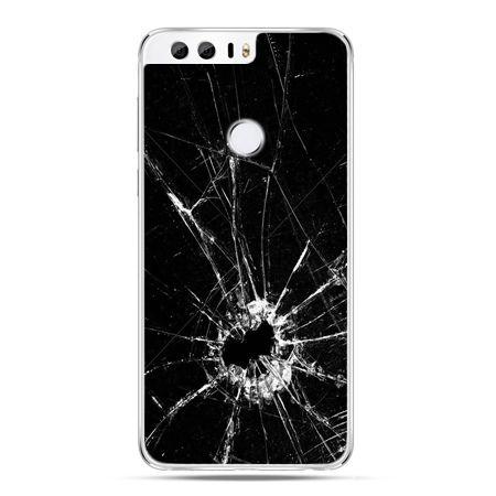 Etui na Huawei Honor 8 - rozbita szyba
