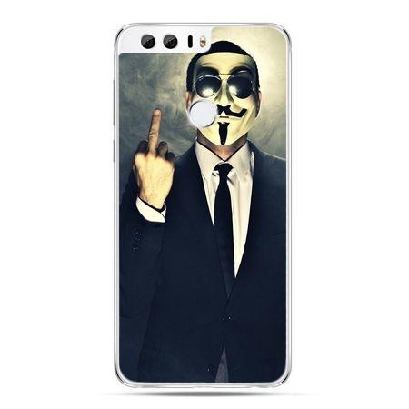 Etui na Huawei Honor 8 - Anonimus Fuck You