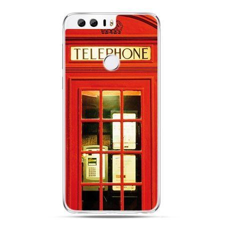 Etui na Huawei Honor 8 - czerwona budka telefoniczna