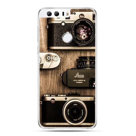 Etui na Huawei Honor 8 - aparaty retro