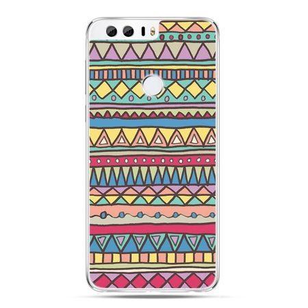 Etui na Huawei Honor 8 - Azteckie wzory