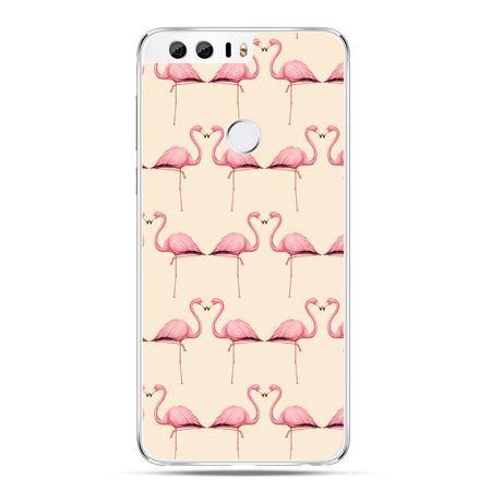 Etui na Huawei Honor 8 - flamingi
