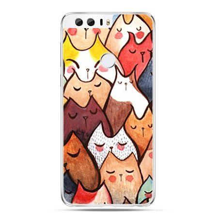 Etui na Huawei Honor 8 - koty