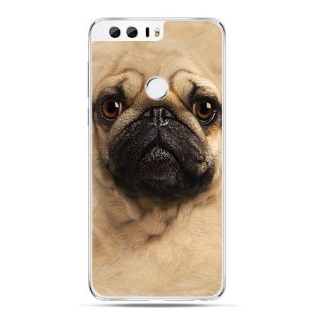 Etui na Huawei Honor 8 - pies szczeniak Face 3d