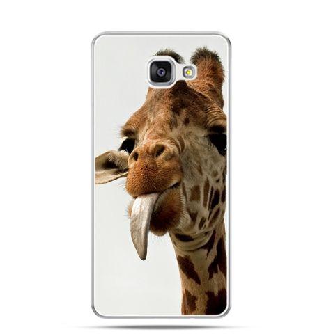 Etui na Samsung Galaxy A3 (2016) A310 - żyrafa z językiem